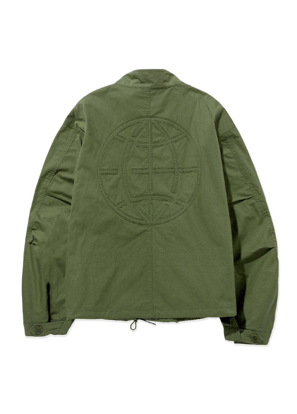 LMC CROPPED MILITARY M-65 JACKET olive
