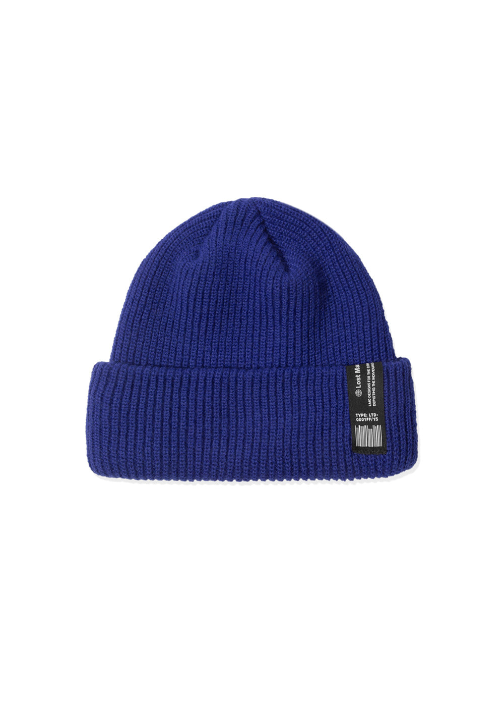 LMC LABEL SHORT BEANIE royal blue