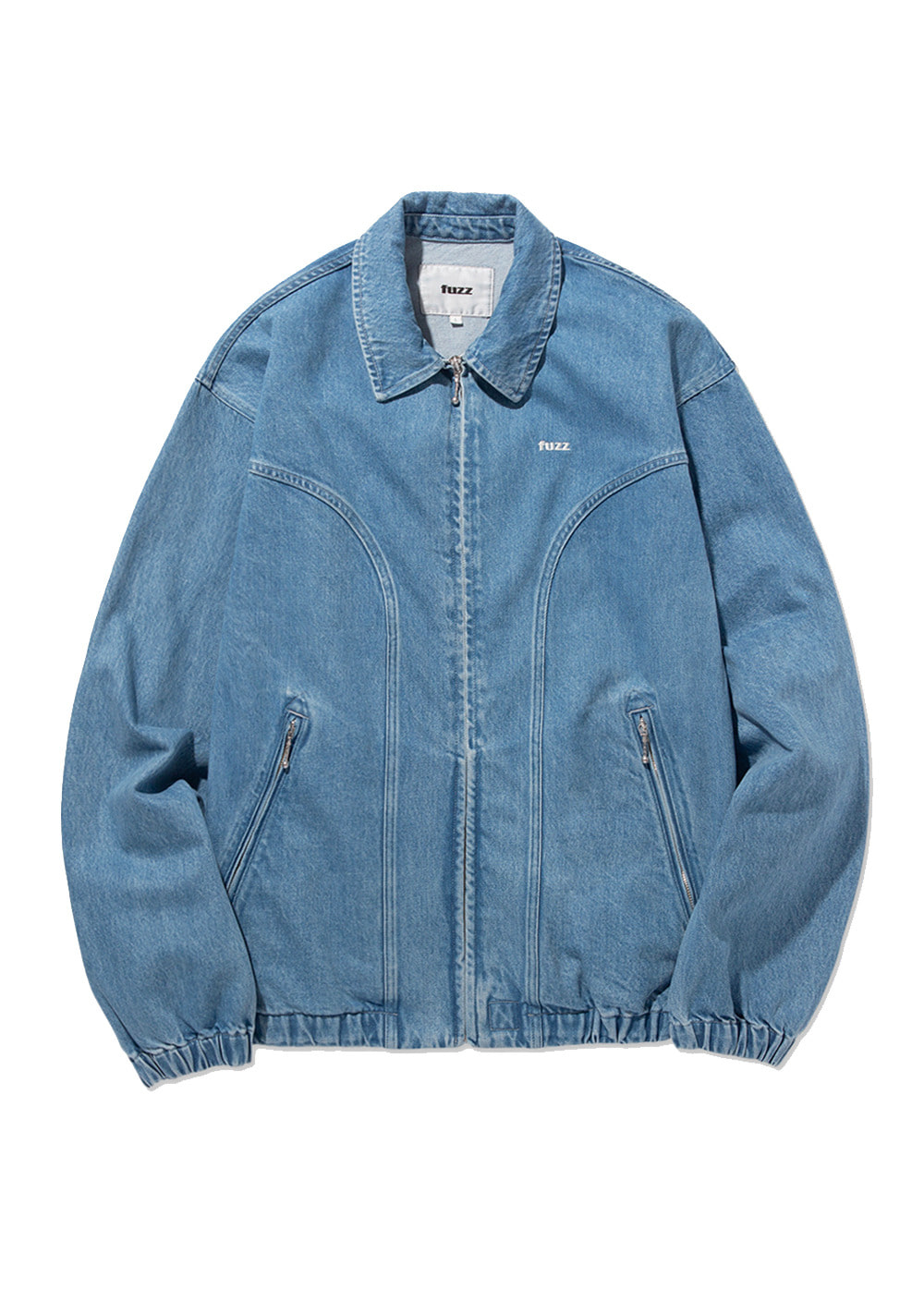 FUZZ WASHED DENIM BLOUSON