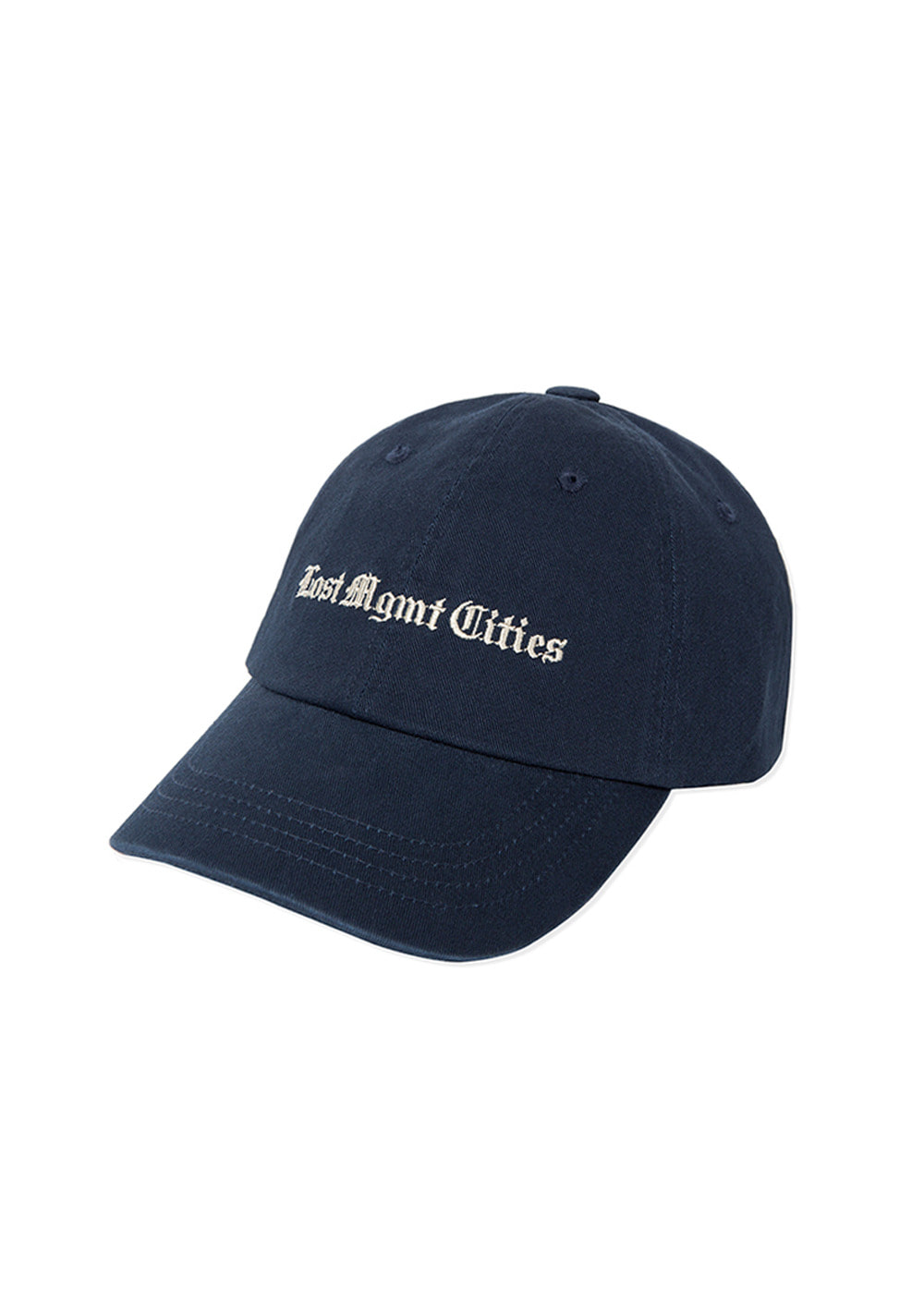 LMC TIMES WASHED 6 PANEL CAP navy