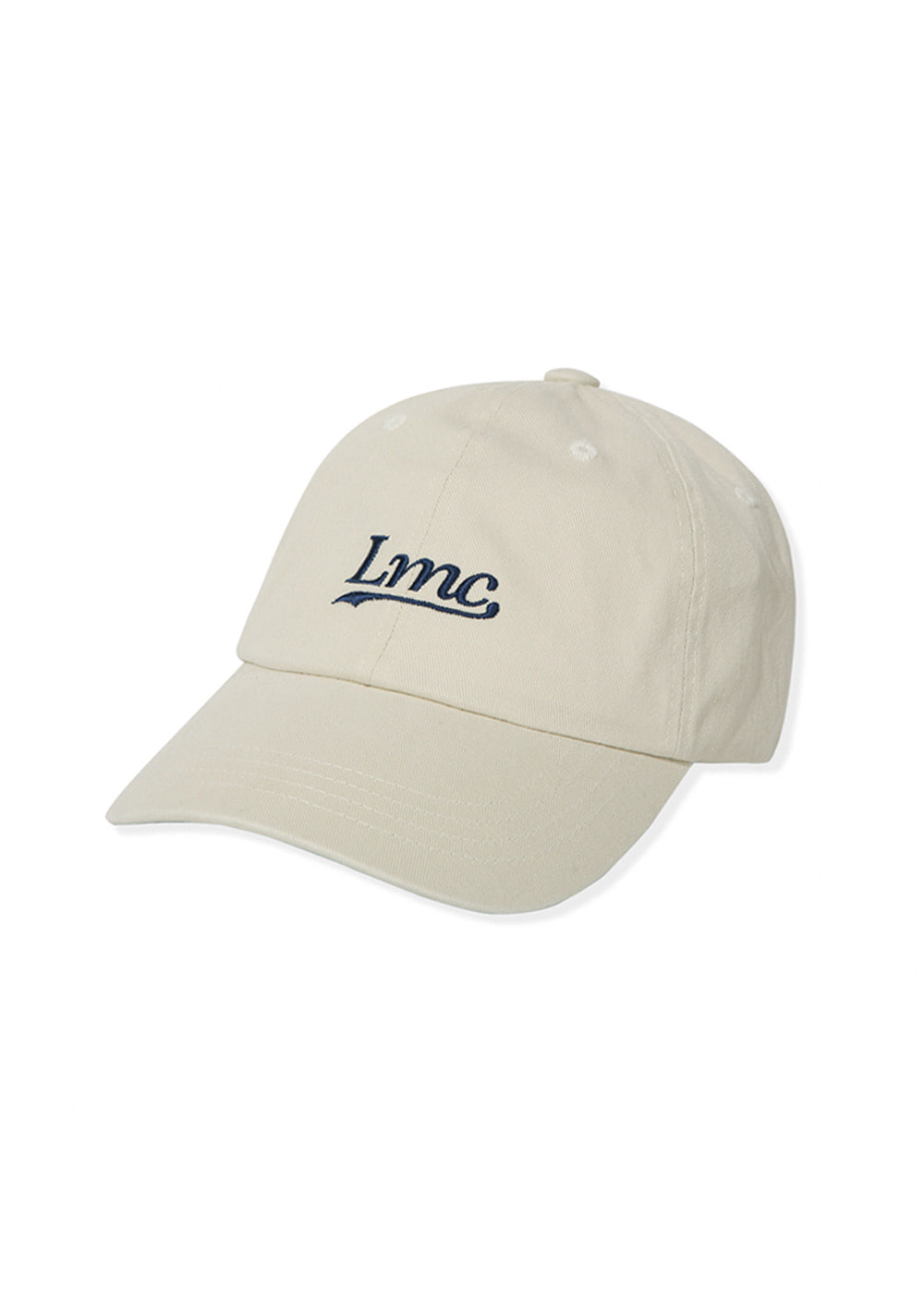 LMC CLASSIC WASHED 6 PANEL CAP ivory