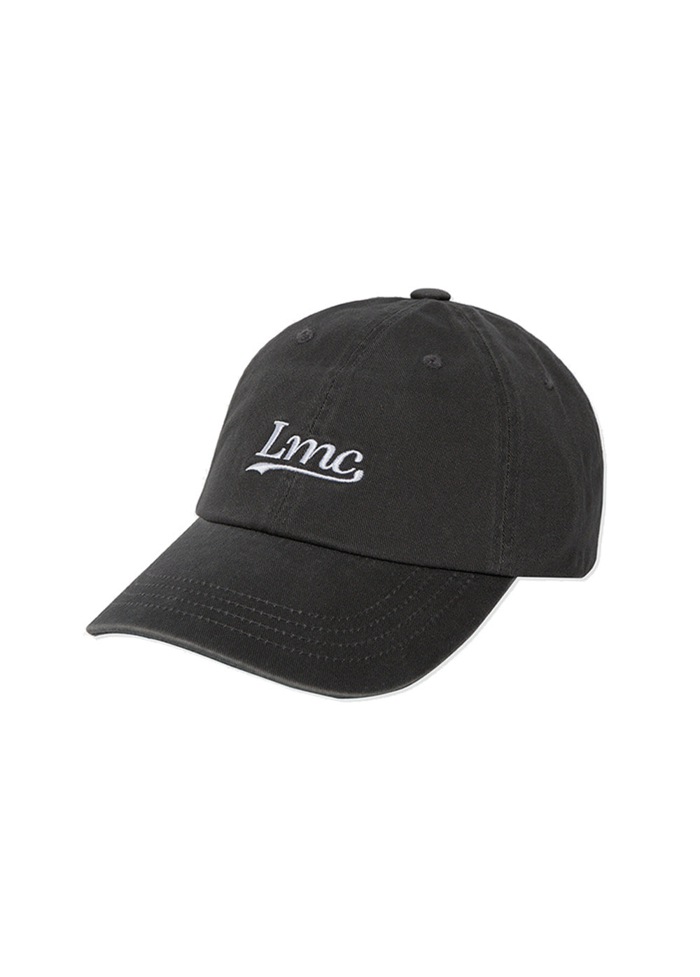LMC CLASSIC WASHED 6 PANEL CAP charcoal