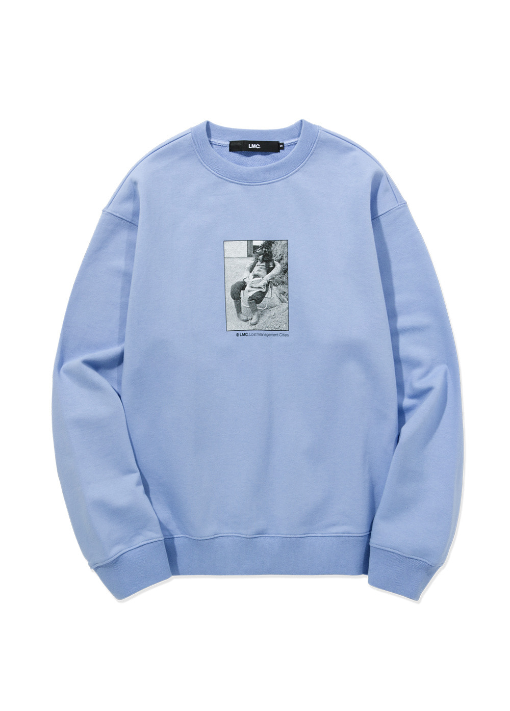 LMC SCARECROW SWEATSHIRT powder blue
