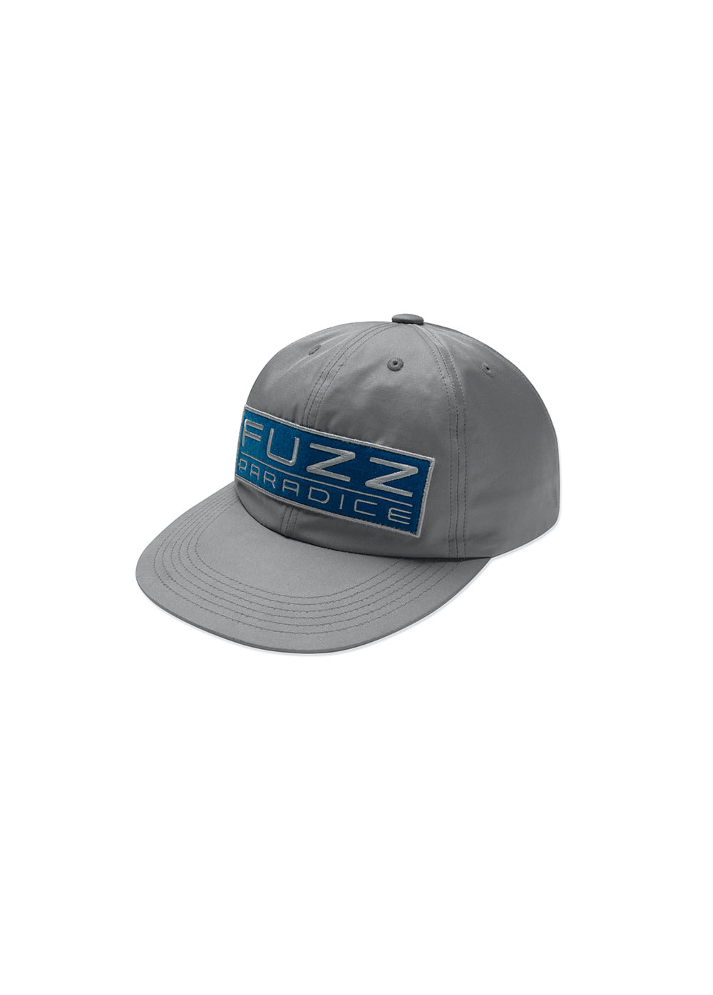 FUZZ PATCH CAP gray