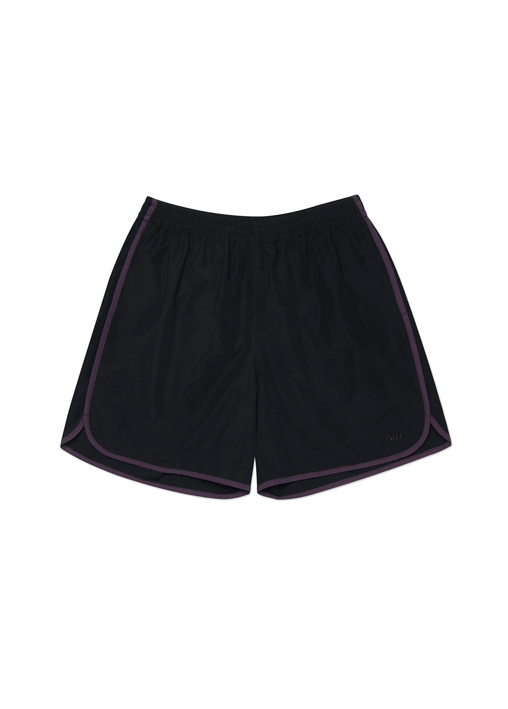 FUZZ LINE TAPE SHORTS black