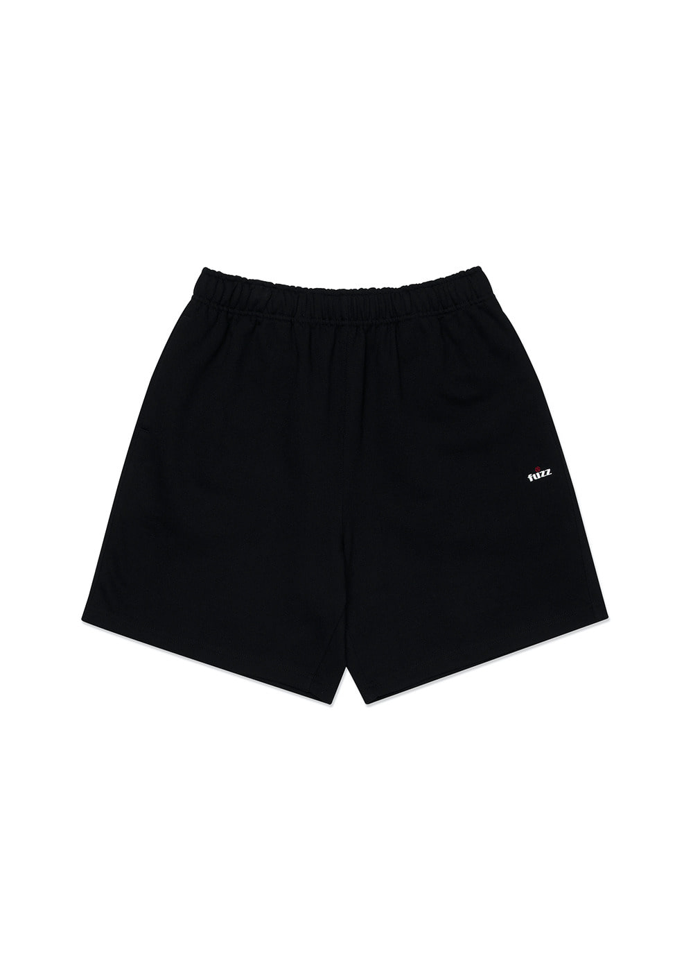 FUZZ R LOGO SWEAT SHORTS black