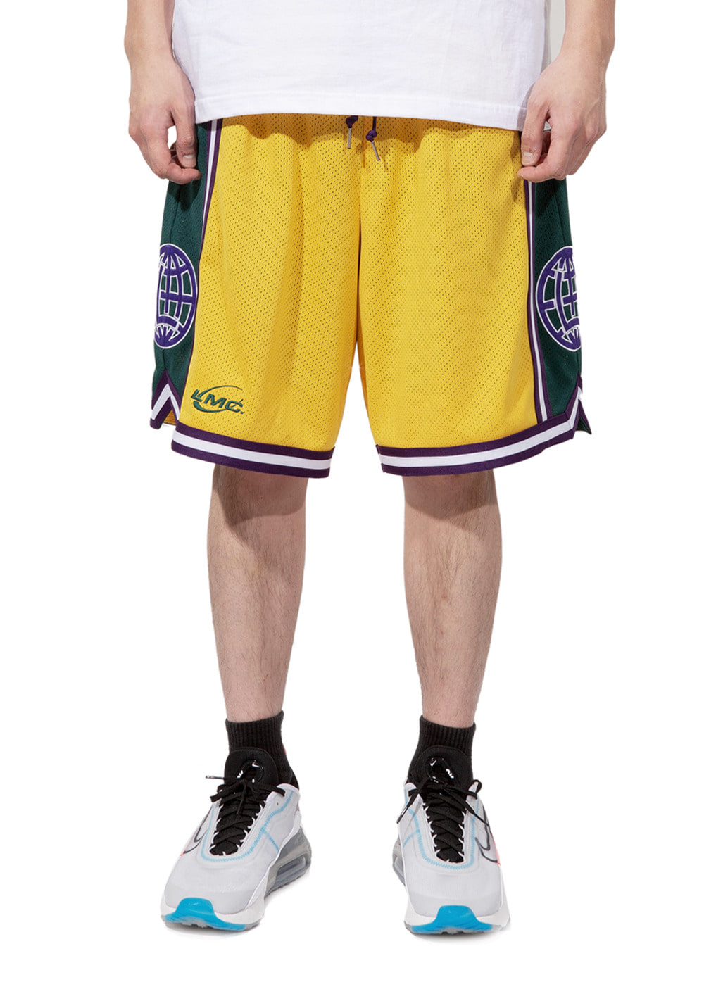 LMC BASKETBALL SHORTS yellow