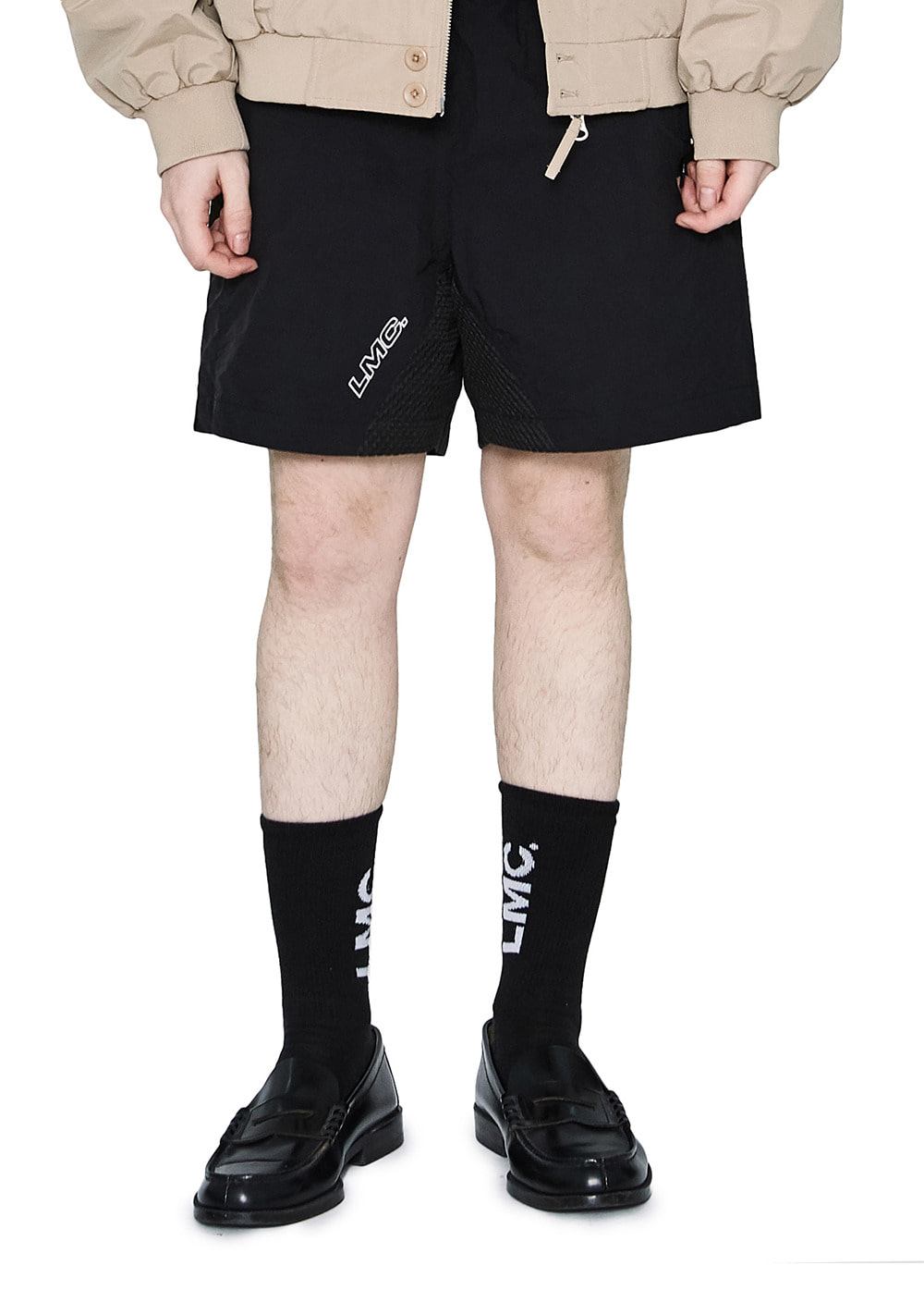 LMC MMWB TRACK SUIT SHORTS black