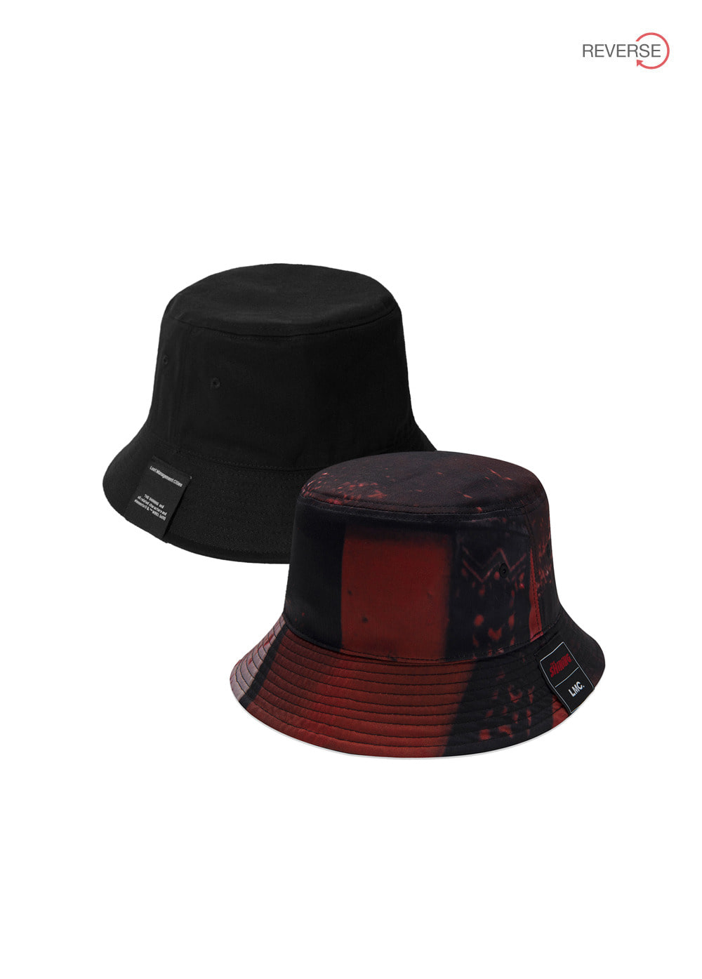 LMC│THE SHINING REVERSIBLE BUCKET HAT black