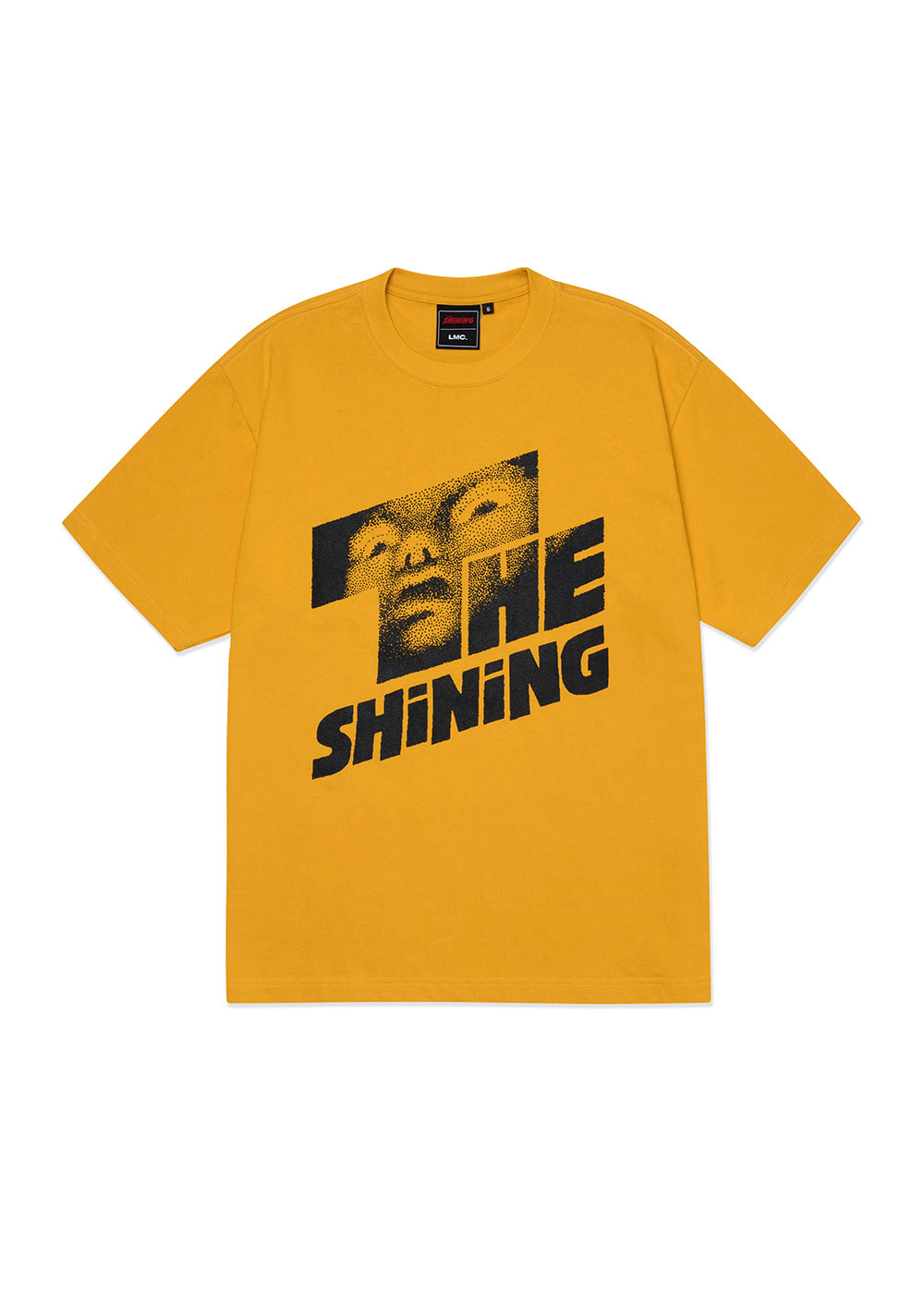 LMC│THE SHINING FACE TEE mustard