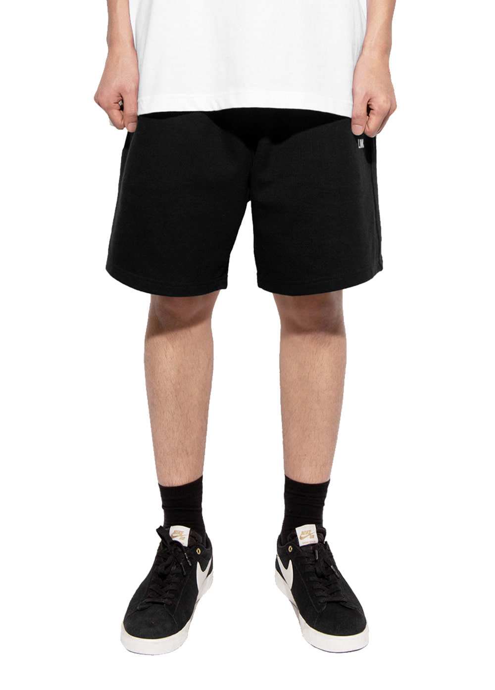 LMC OG SWEAT SHORTS black