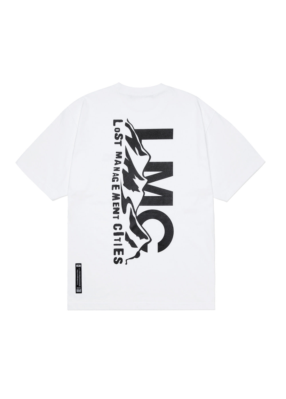 LMC MOUNTAIN TEE white