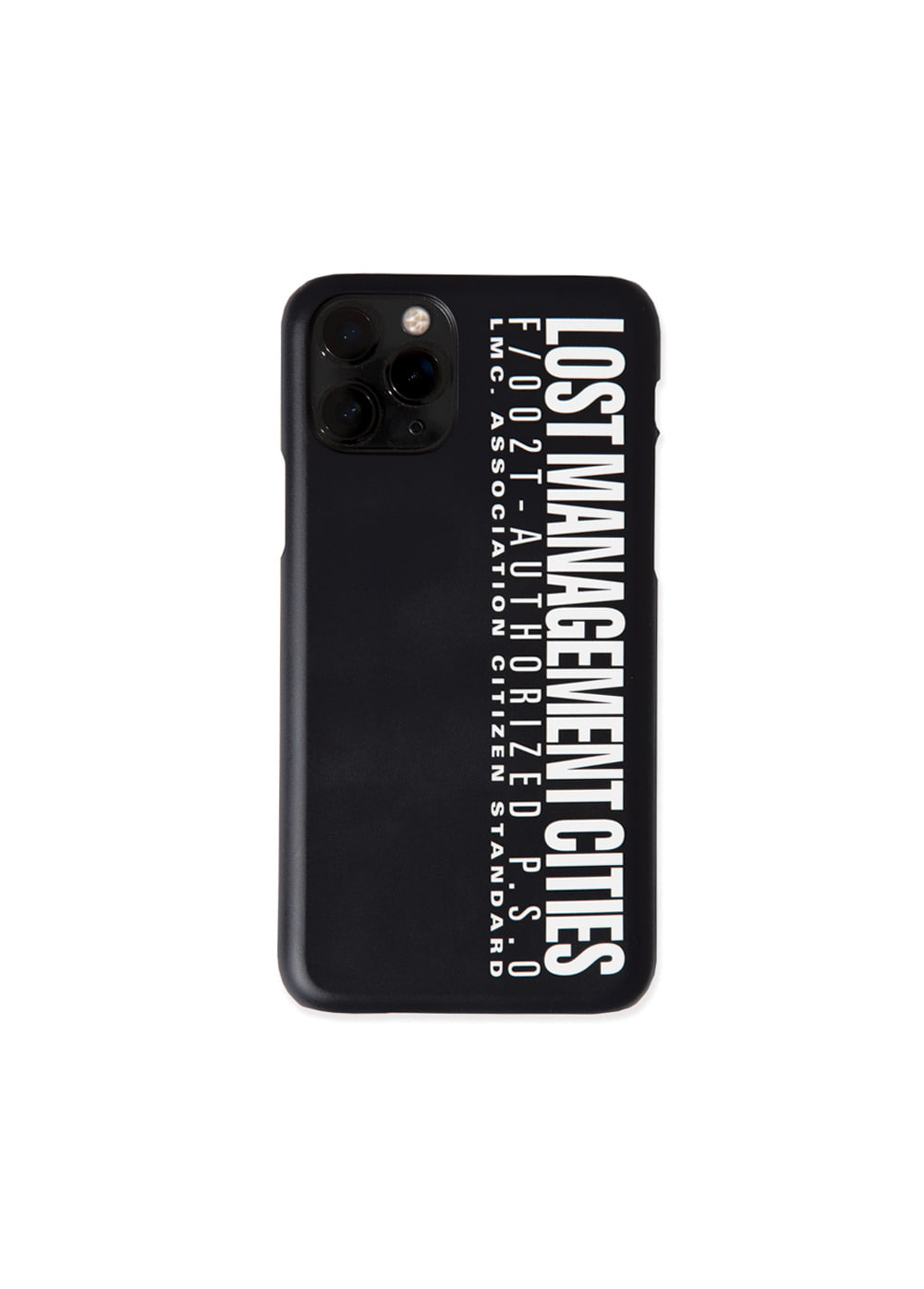 LMC AUTHORIZED LOGO IPHONE 11 PRO HARD CASE black