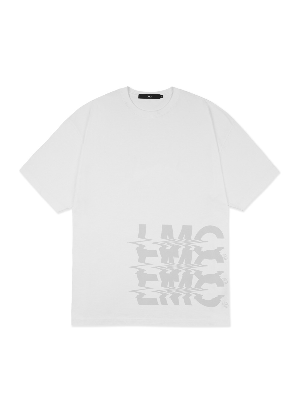 LMC NOISE OVERSIZED TEE white