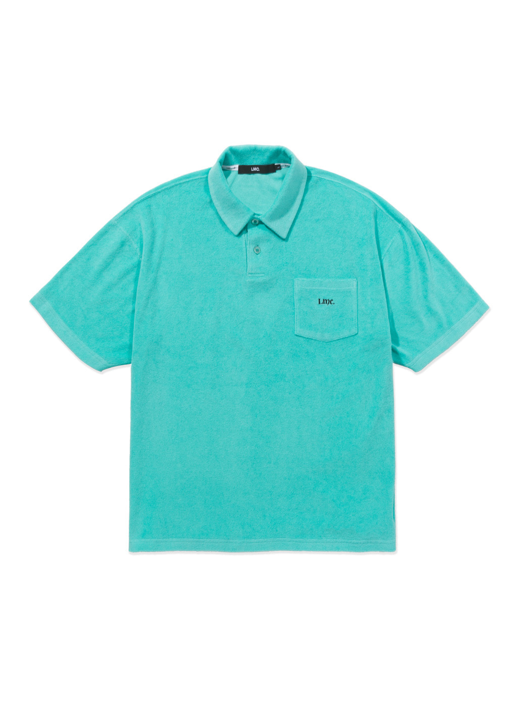 LMC OLDE OG TERRY POLO SHIRT mint