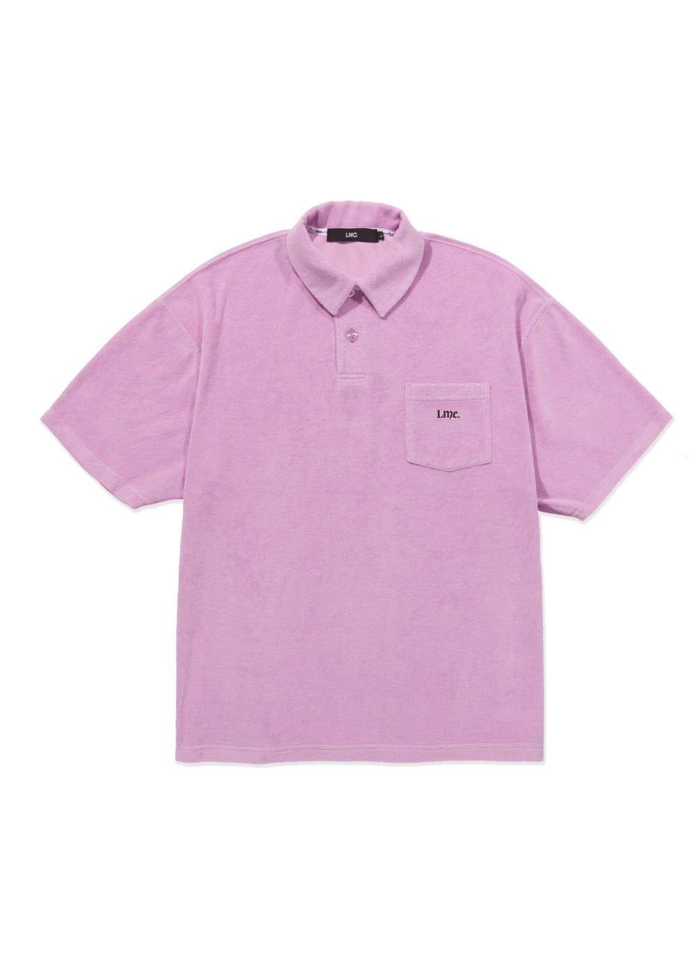 LMC OLDE OG TERRY POLO SHIRT pink