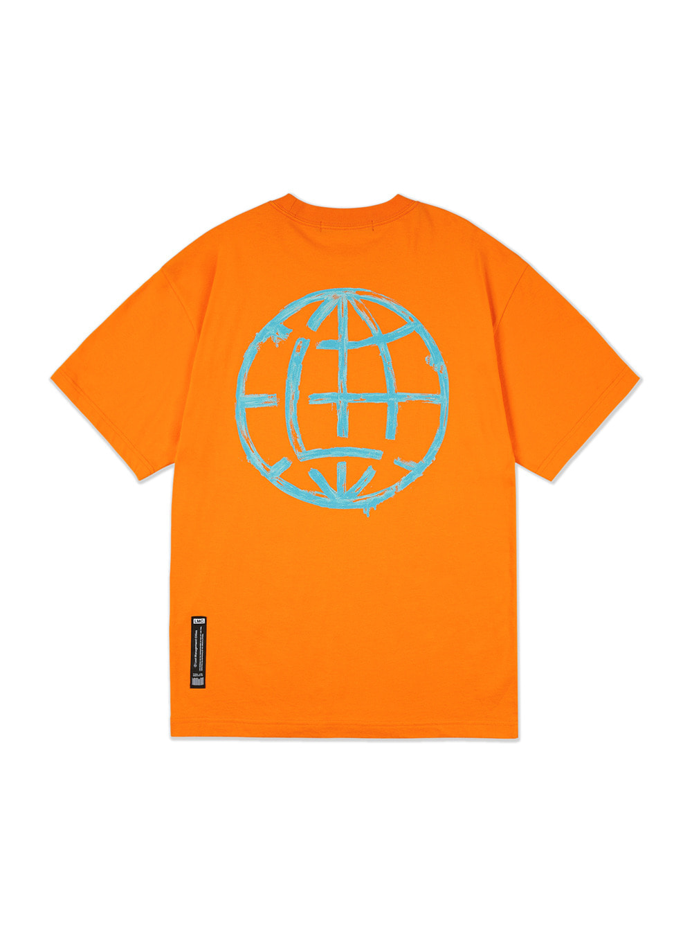 LMC PAINT BRUSH TEE orange