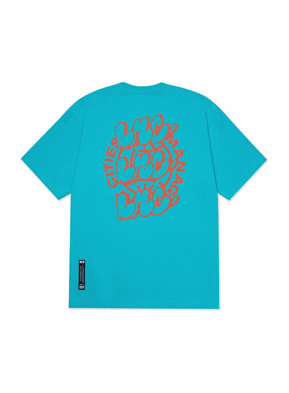 LMC GRAFFITI BL TEE mint blue