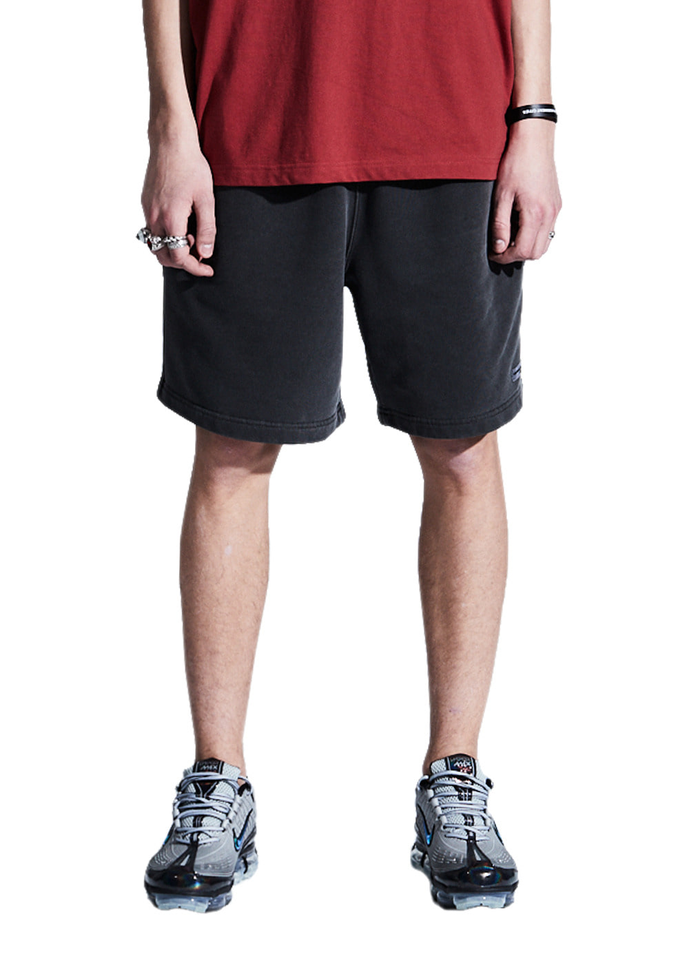 LMC OVERDYED ARCH FN SWEAT SHORTS black