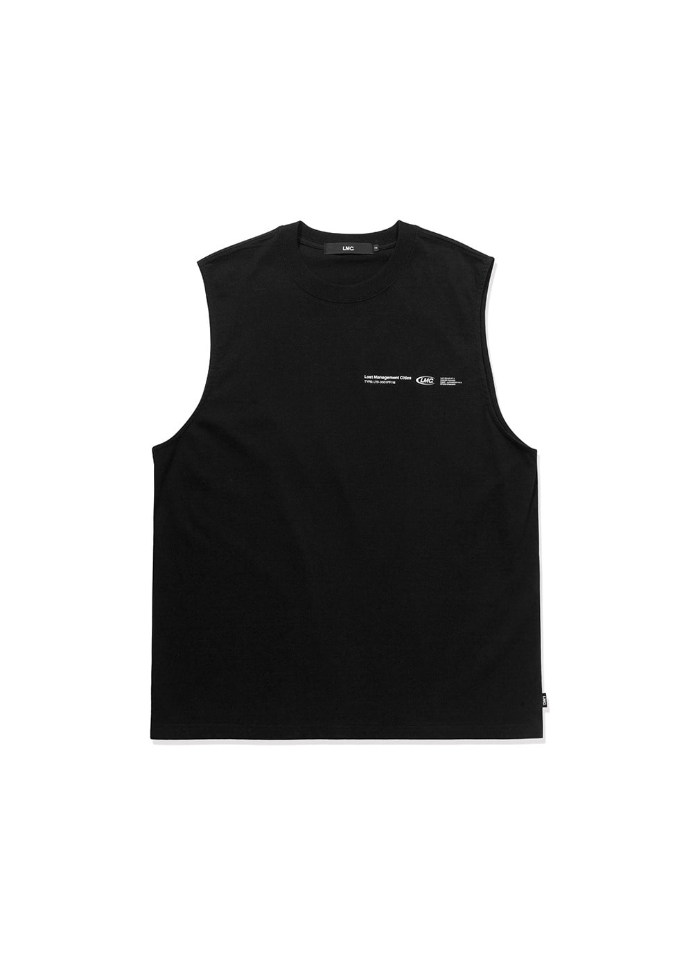 LMC LOGO PACK OVERSIZED SLEEVELESS black