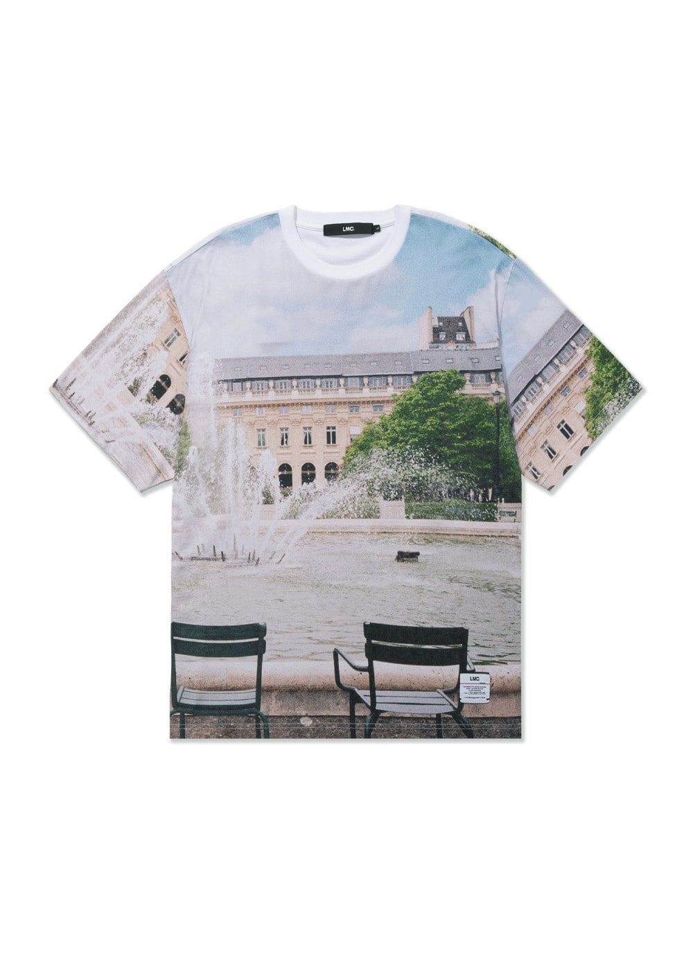LMC TRAVEL FILM TEE white