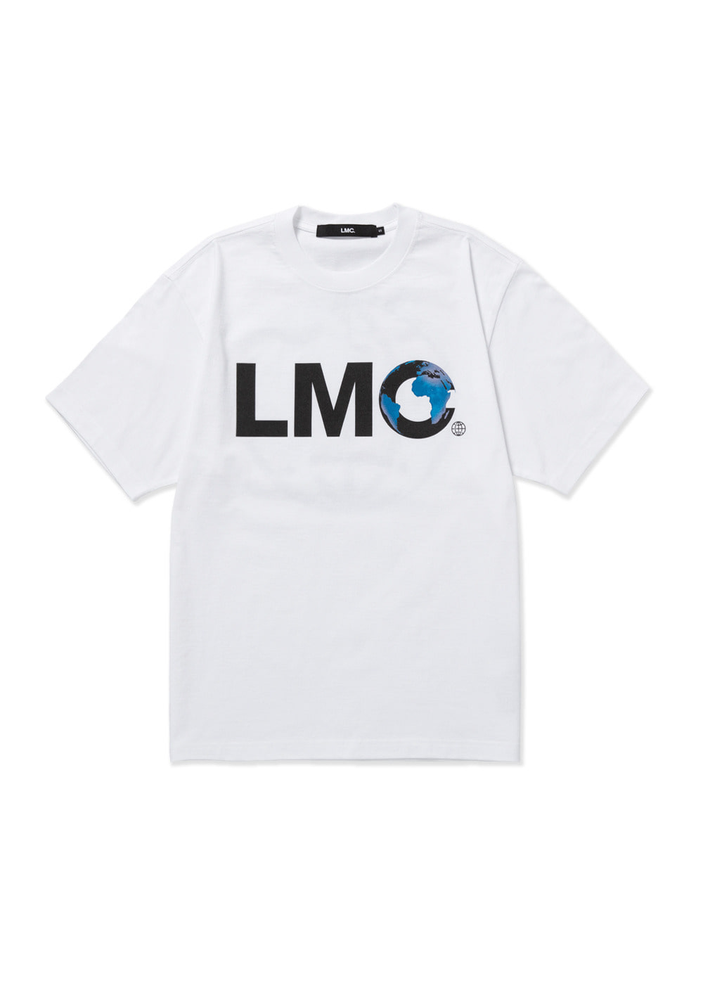 LMC EARTH LOGO TEE white
