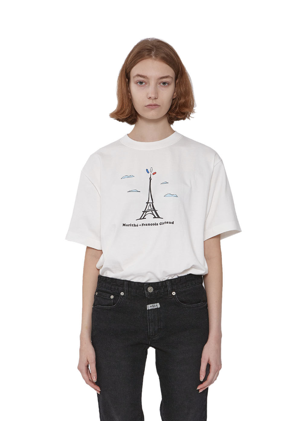 MFG TOWER TEE off white