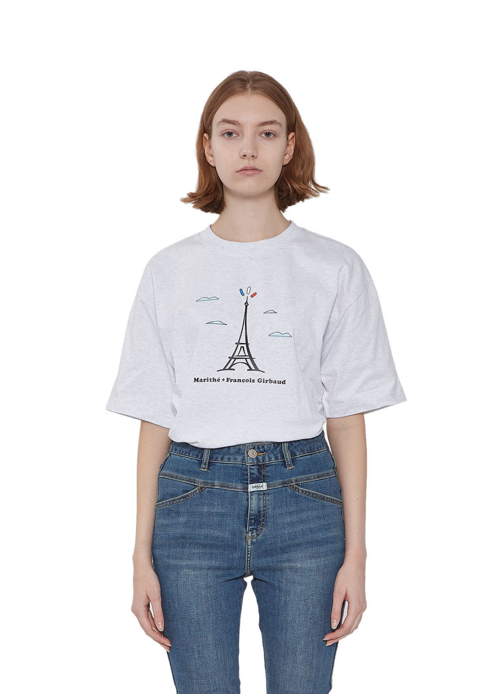 MFG TOWER TEE heather gray