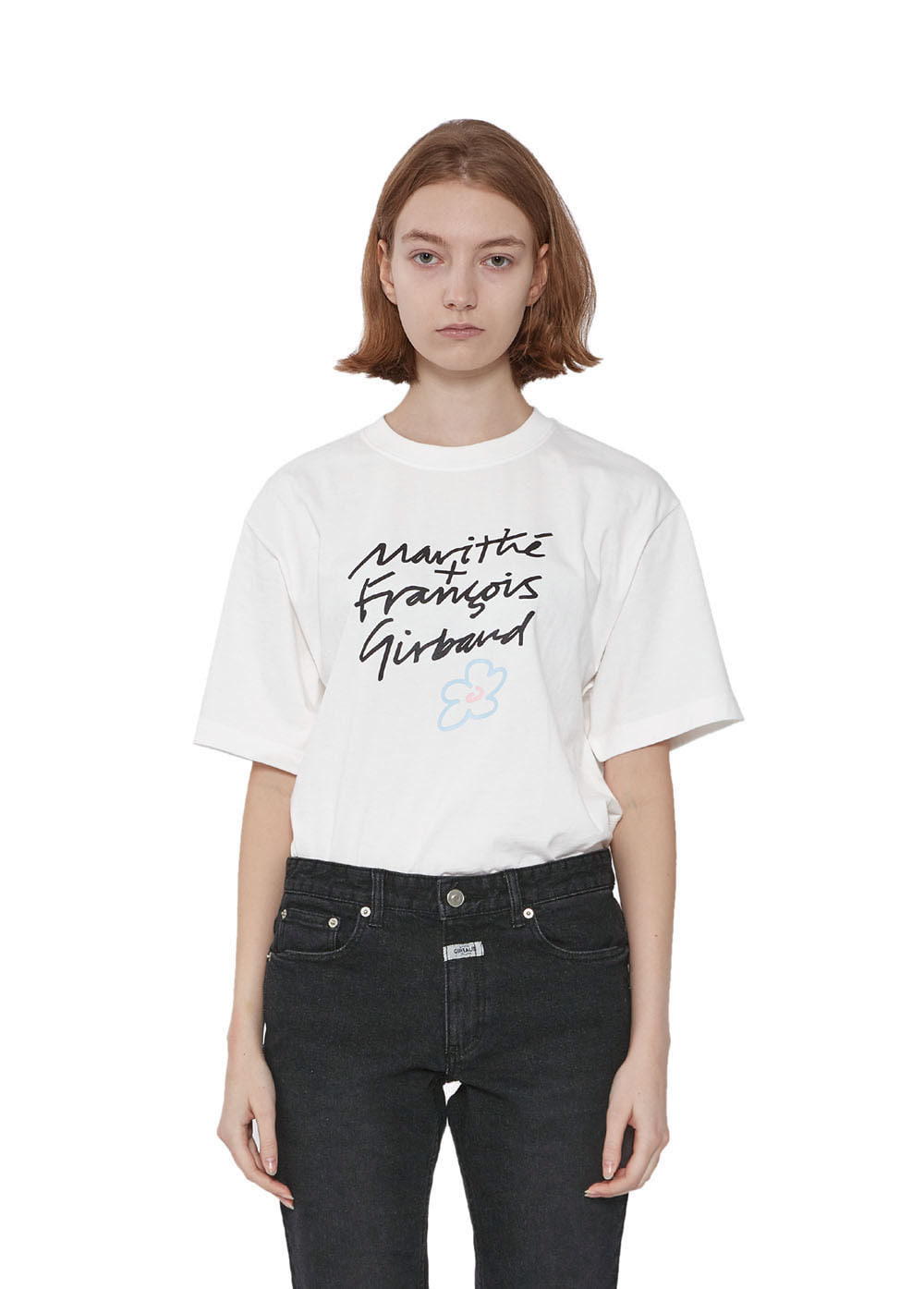 MFG HANDWRITTEN TEE off white