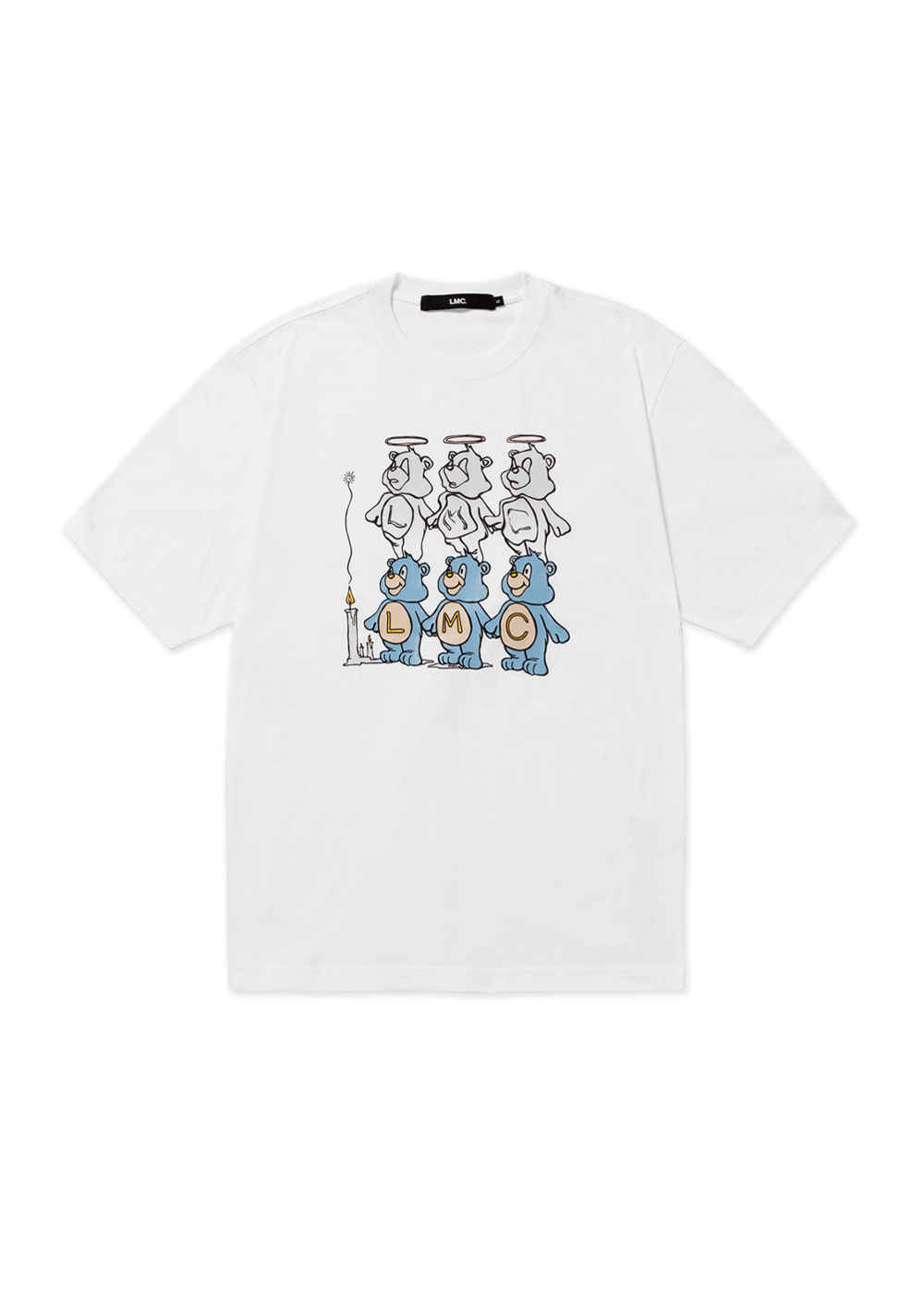 LMC THREE BEARS TEE white