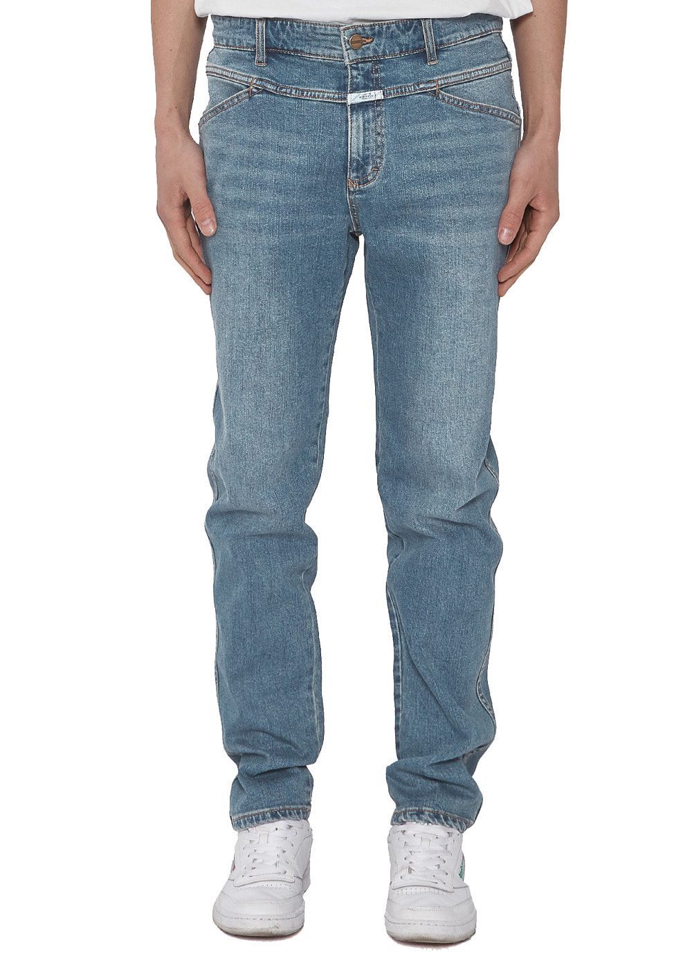 MFG SLIM STRAIGHT X-JEANS (MEN) stone blue