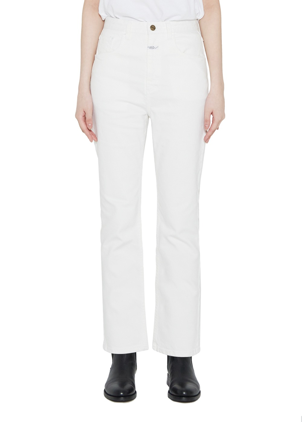 MARITHE W STANDARD JEANS cream