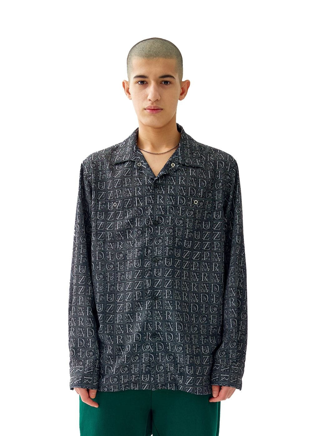 FUZZ WORK SHIRT black
