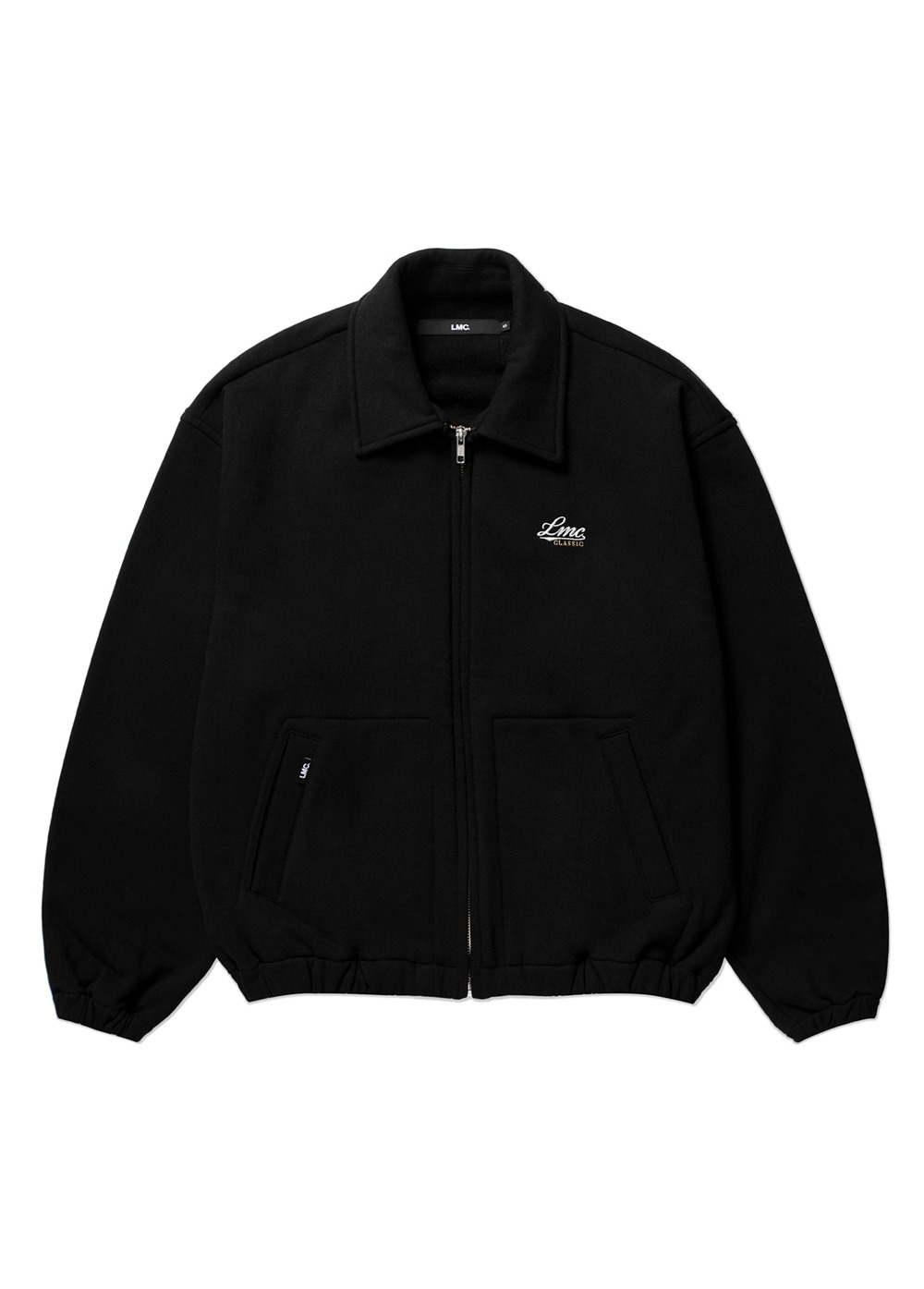LMC SWEAT HARRINGTON JACKET black