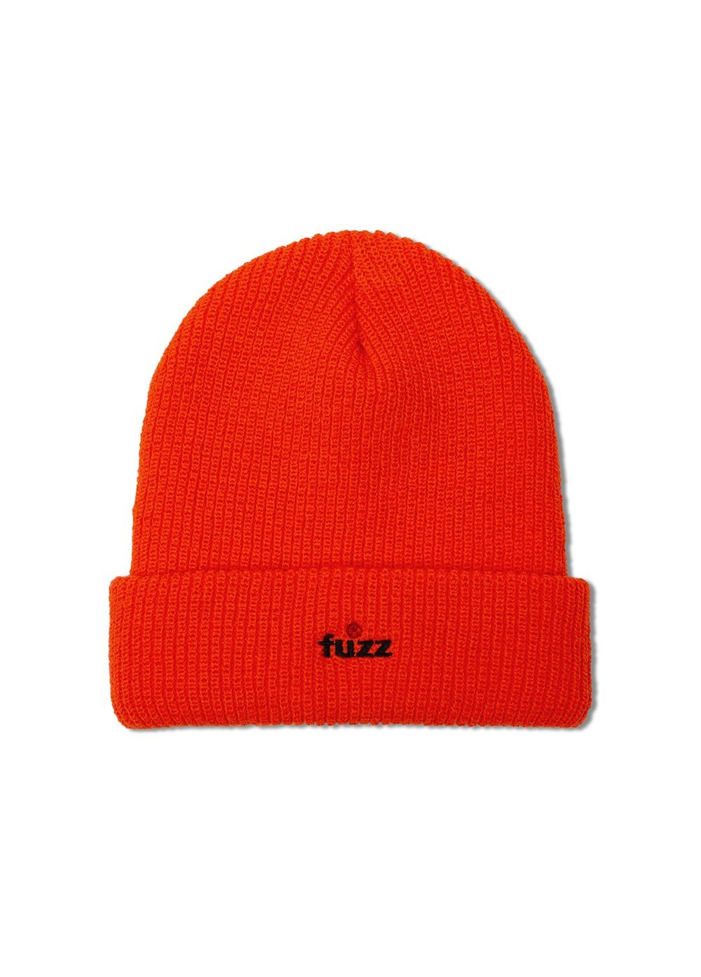FUZZ R LOGO BEANIE orange