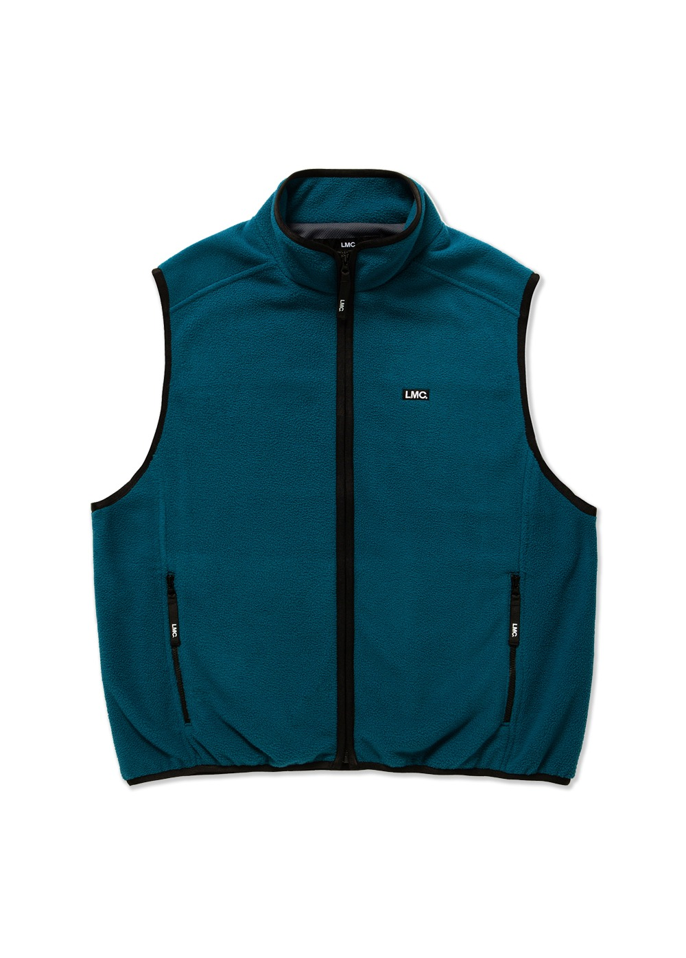 LMC POLAR FLEECE VEST teal green