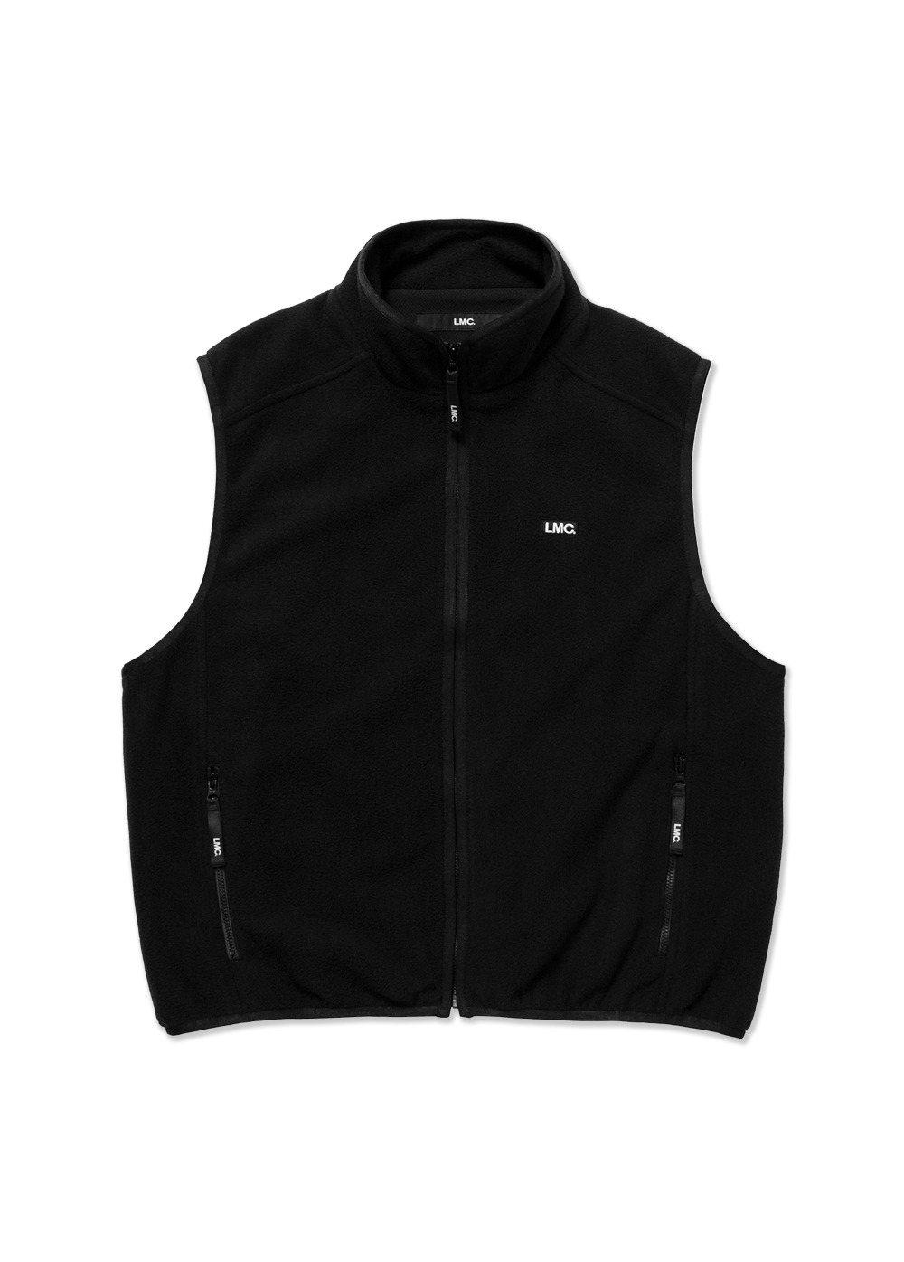 LMC POLAR FLEECE VEST black