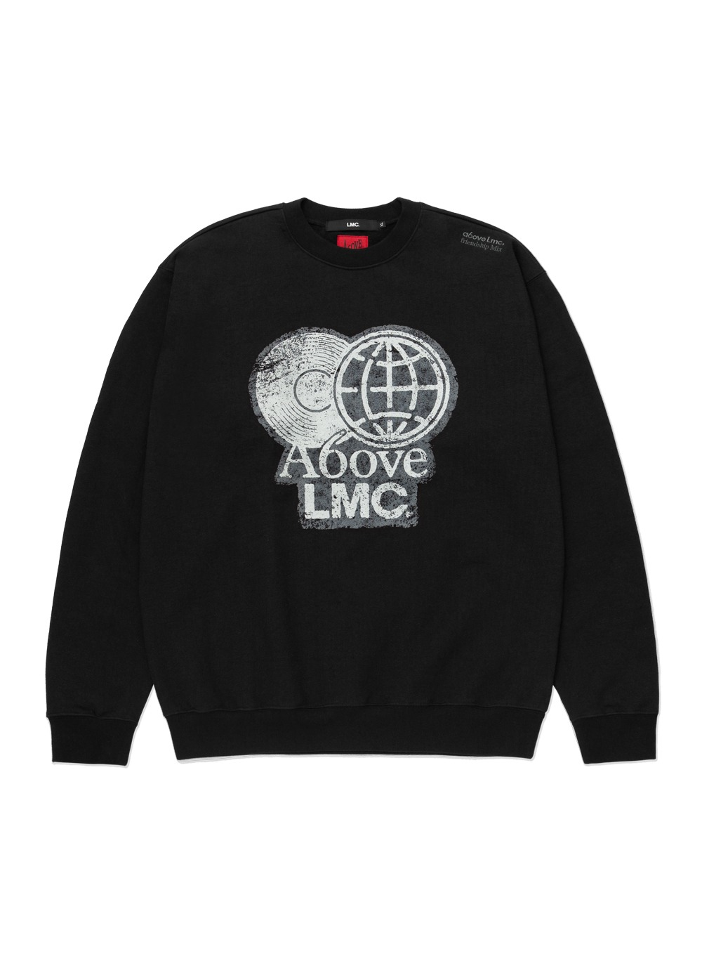 LMC X A6OVE FRIENDSHIP MIX SWEATSHIRT black