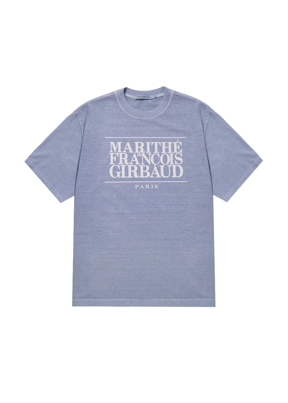 MARITHE CLASSIC LOGO TEE lavender blue