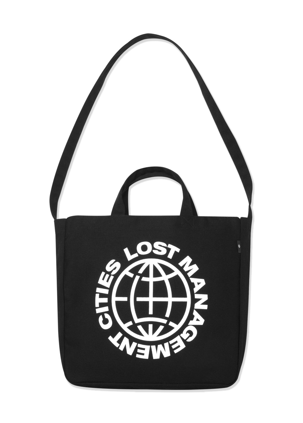 LMC WHEEL CANVAS ECO BAG black