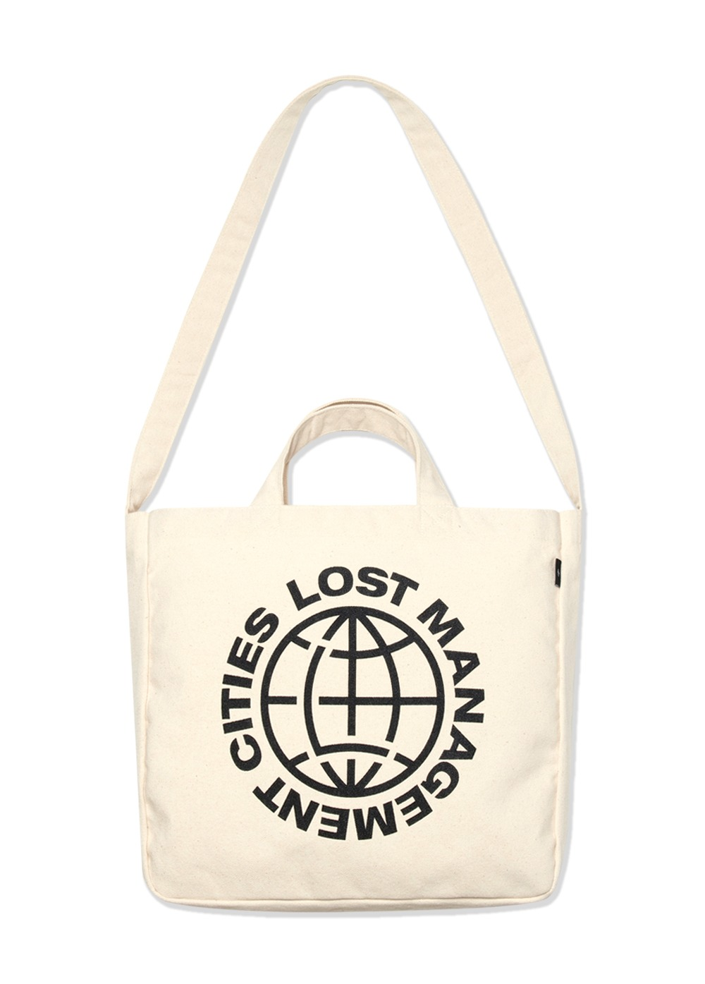 LMC WHEEL CANVAS ECO BAG ivory