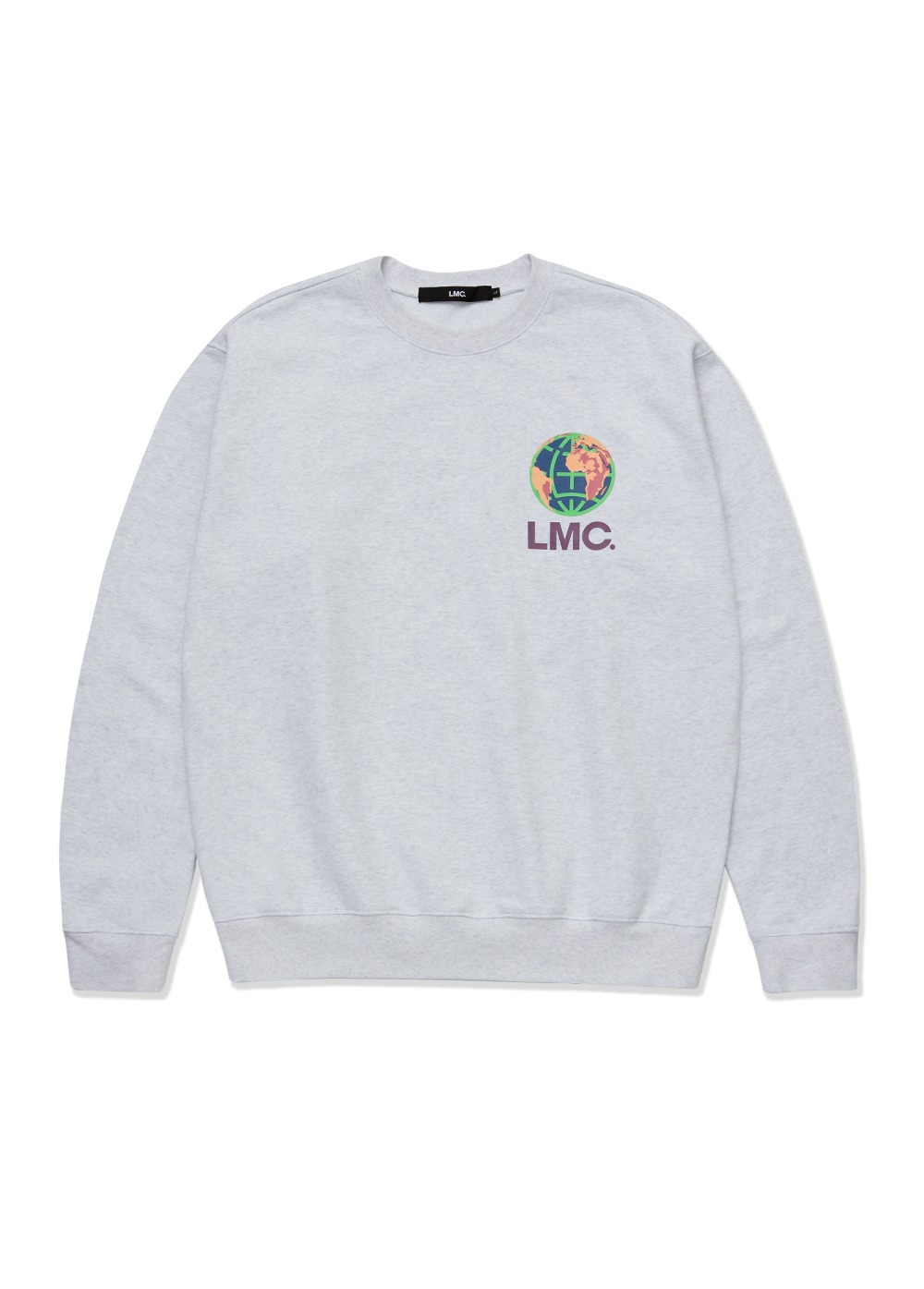 LMC CAMPAIGN EARTH SWEATSHIRT lt. heather gray