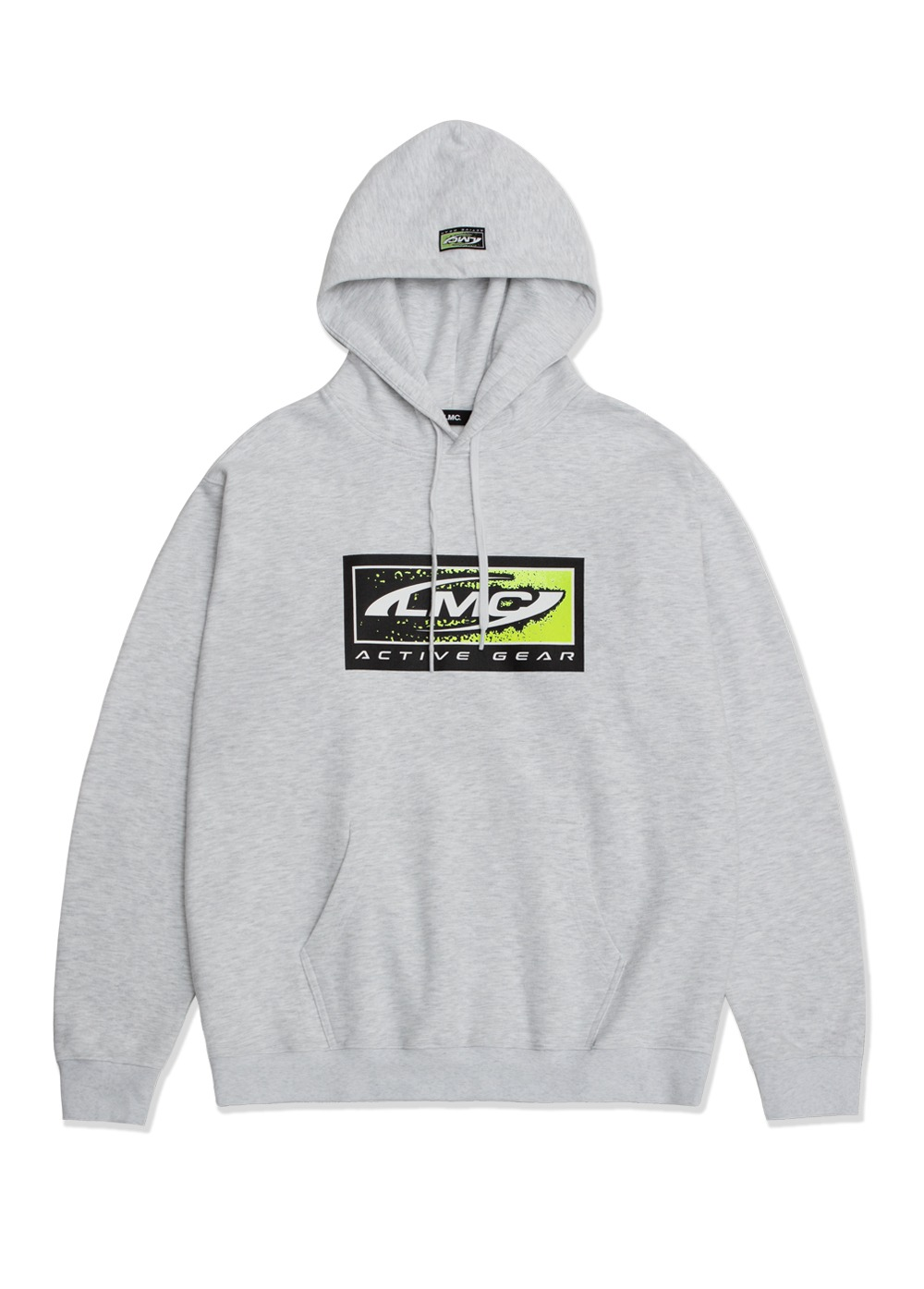 LMC ACTIVE GEAR HOODIE lt. heather gray