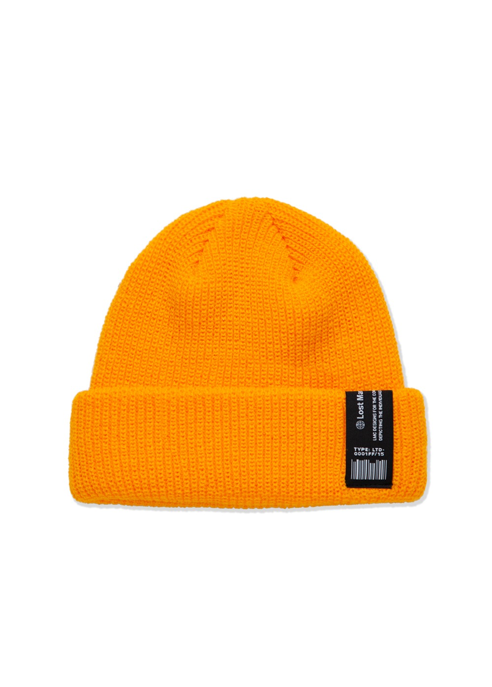 LMC LABEL SHORT BEANIE yellow