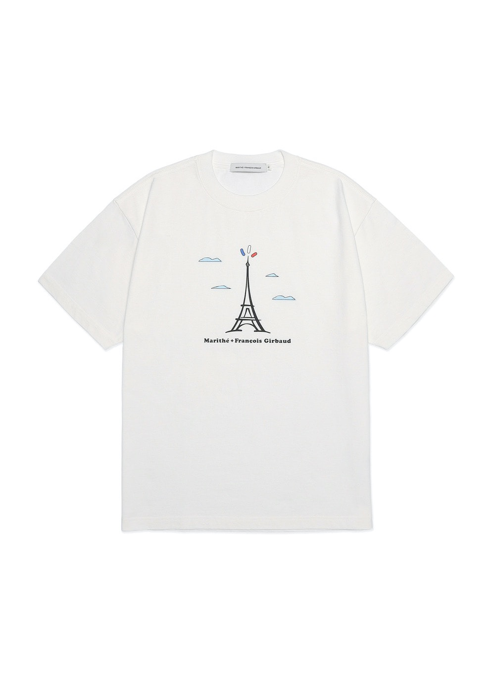 MARITHE TOWER TEE off white