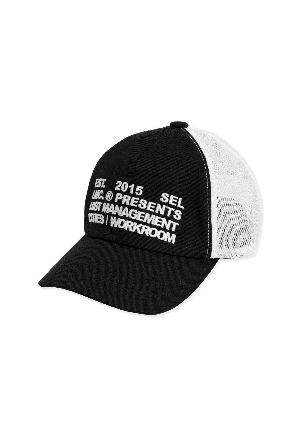 LMC WORKROOM MESH BALL CAP black