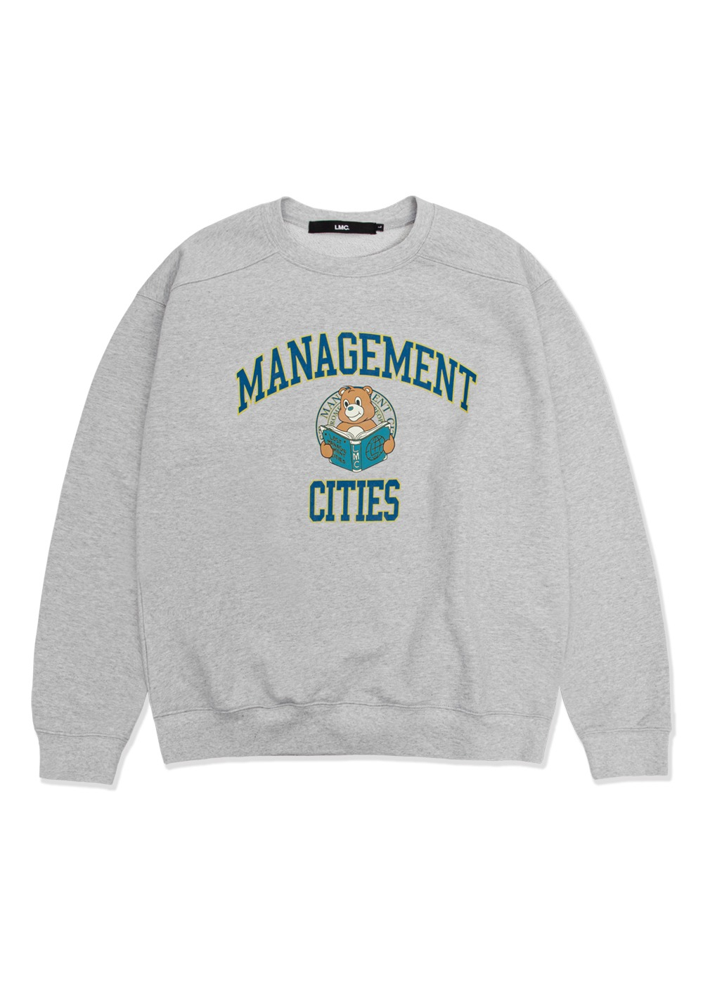 LMC UNIV BEAR SWEATSHIRT heather gray