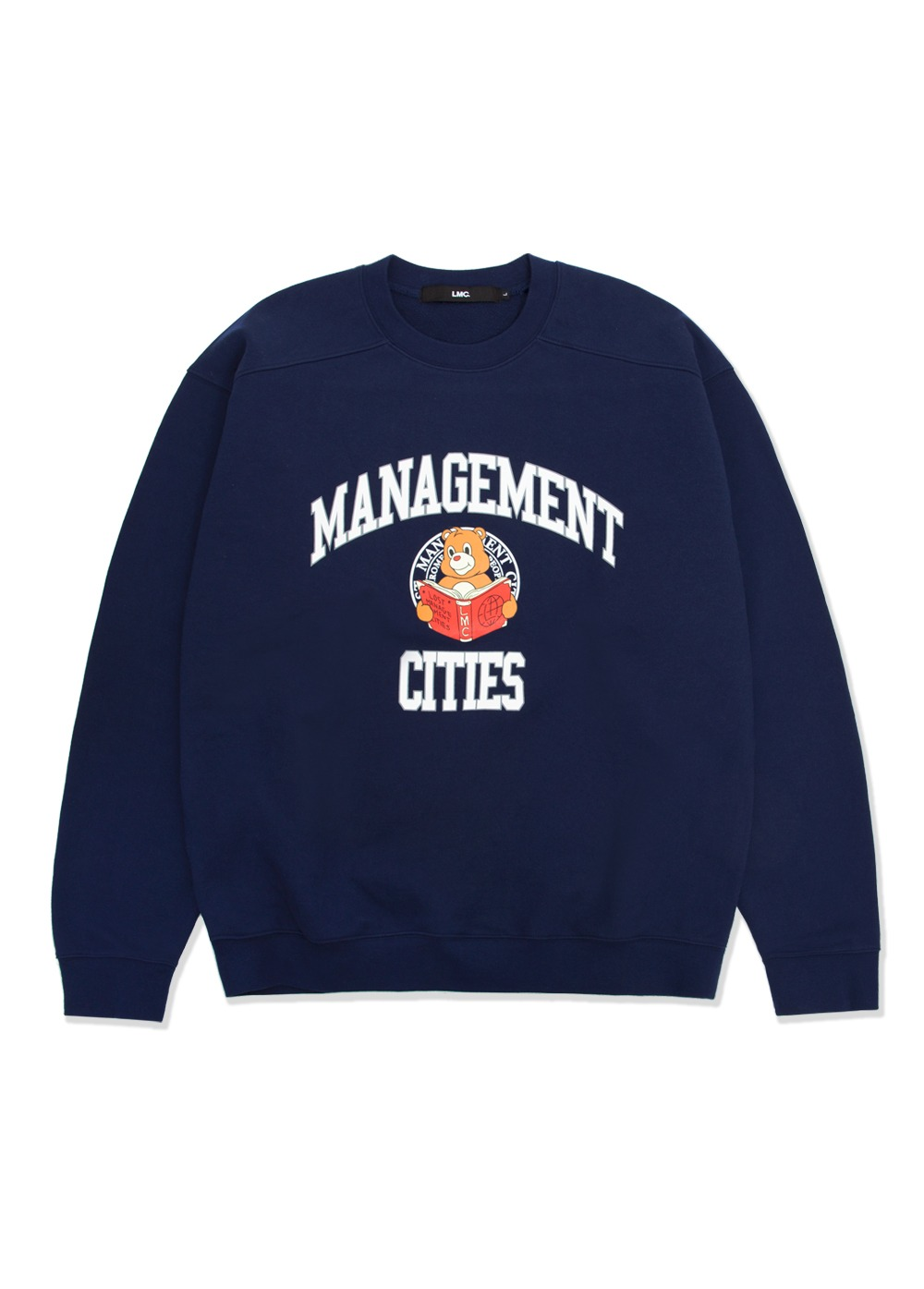 LMC UNIV BEAR SWEATSHIRT navy