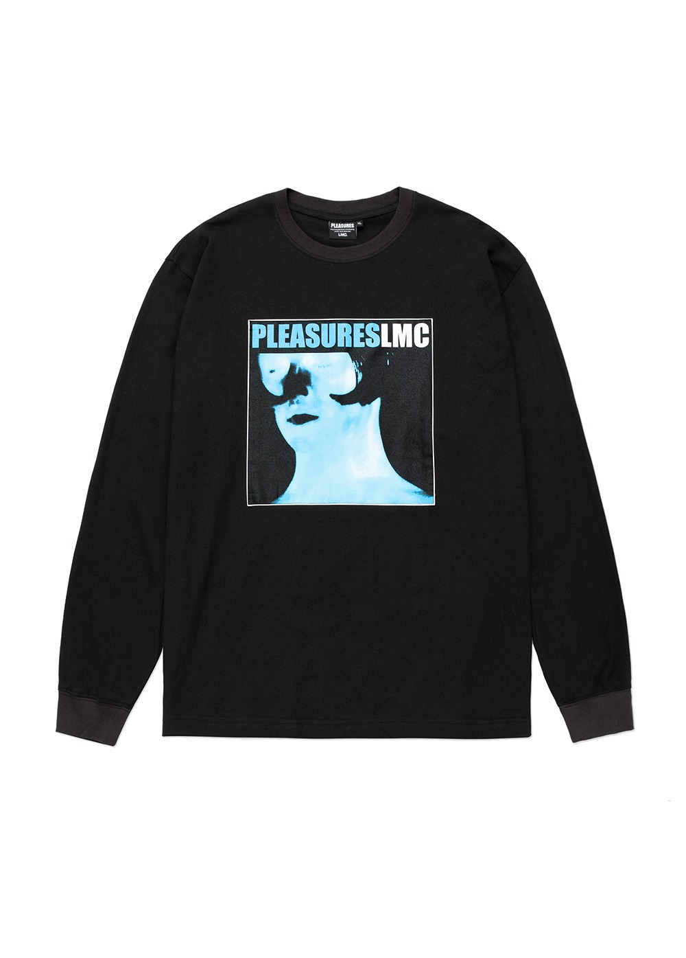 LMC X PLEASURES DIVINE LONG SLV TEE black