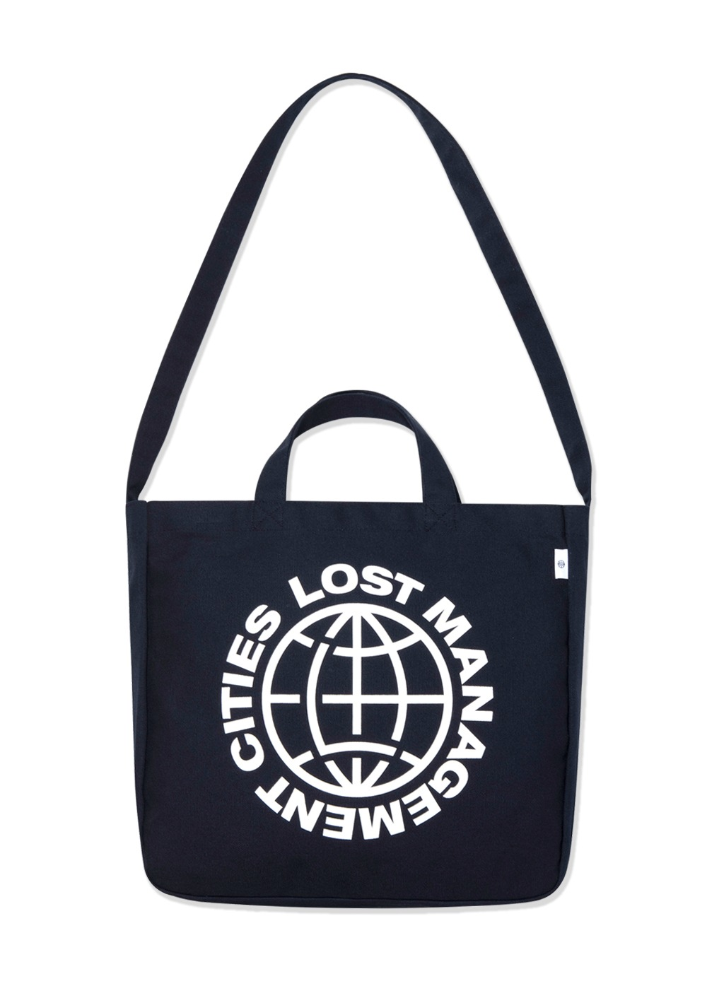 LMC WHEEL CANVAS ECO BAG navy